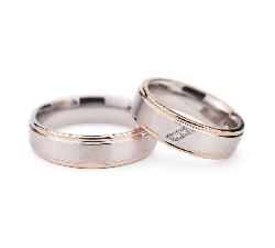 """Teemantidega abielusõrmused """"VMA 131"""""""