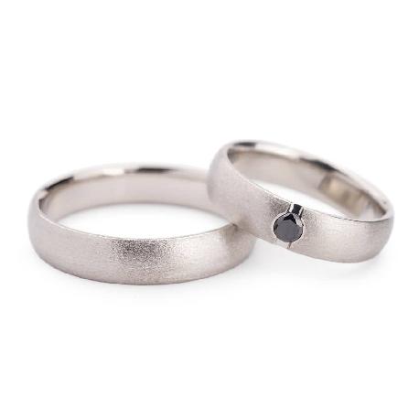 """Teemantidega abielusõrmused """"VKA 127"""""""