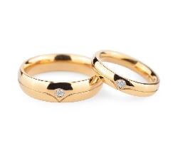 """Auksiniai vestuviniai žiedai """"VKA134"""""""