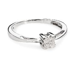 """Sužadėtuvių žiedas su Deimantais """"Princesės II"""""""