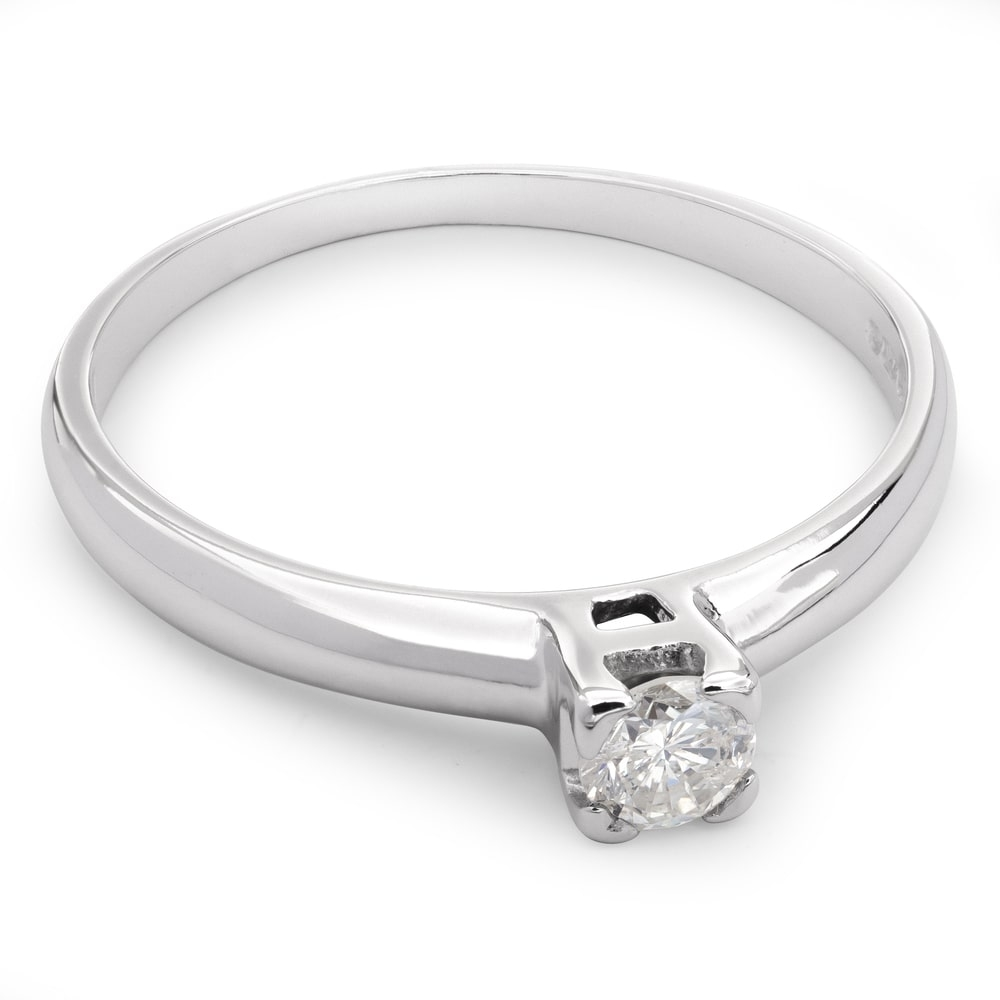 """Engagement ring with brilliant """"Strength 24"""""""