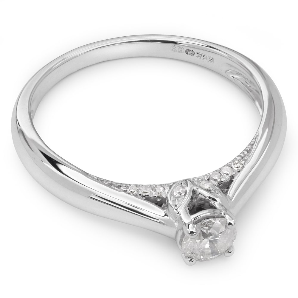 """Engagement ring with brilliant """"Grace 10"""""""