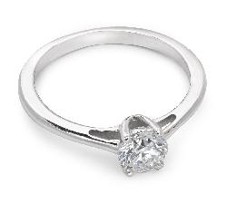 """Sužadėtuvių žiedas su IF Briliantu """"Dievaitė 23"""""""