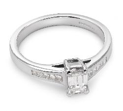 """Sužadėtuvių žiedas su Deimantais """"Nepamirštamasis 4"""""""