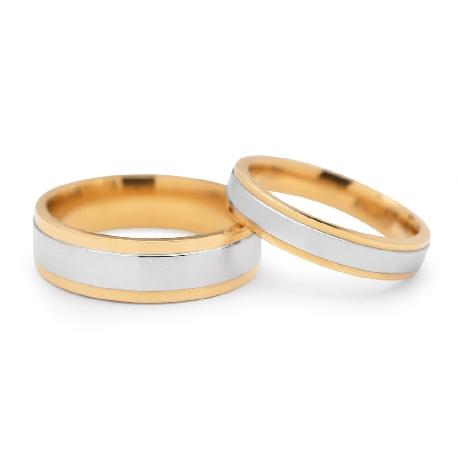 """Kullast abielusõrmused """"VKA 322"""""""