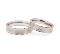 "Gold wedding rings ""VMA 108"""