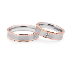 """Kullast abielusõrmused """"VMA 108"""""""