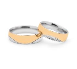 """Teemantidega abielusõrmused """"VKA 097"""""""