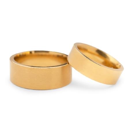 """Kullast abielusõrmused """"VKA 317"""""""