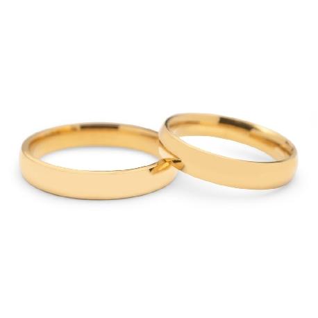 """Kullast abielusõrmused """"VKA 315"""""""