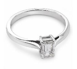 """Sužadėtuvių žiedas su Deimantu """"Tvirtybė 41"""""""