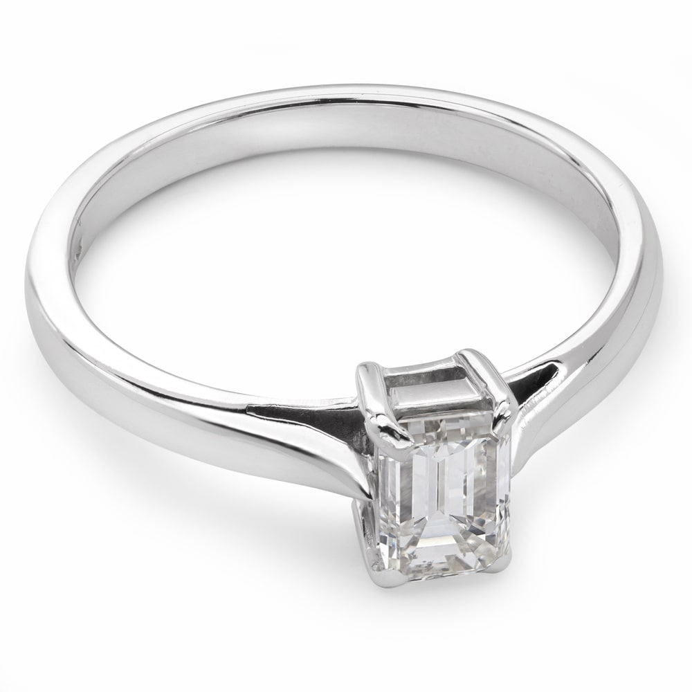 """Engagement ring with diamond """"Strength 41"""""""