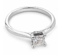 """Sužadėtuvių žiedas su Deimantu """"Princesė 13"""""""