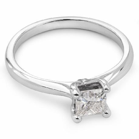 "Engagement ring with diamond ""Princess 13"""