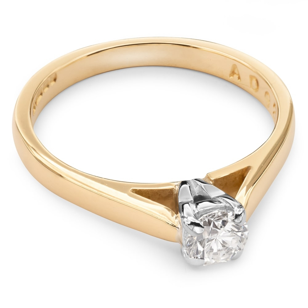 """Engagement ring with brilliant """"Goddess 25"""""""