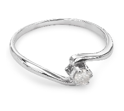 """Engagement ring with brilliant """"Life 13"""""""