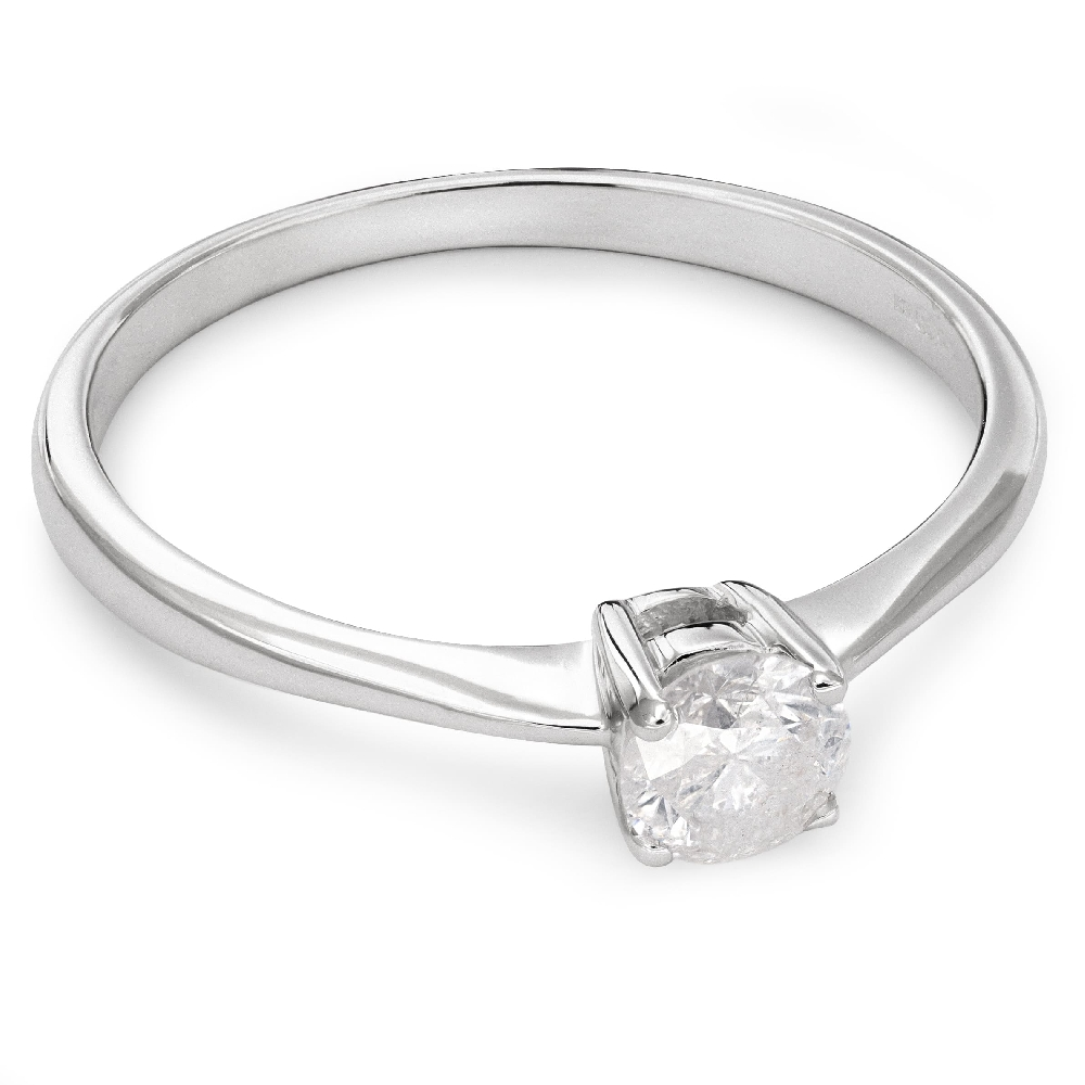 """Engagement ring with brilliant """"Strength 53"""""""