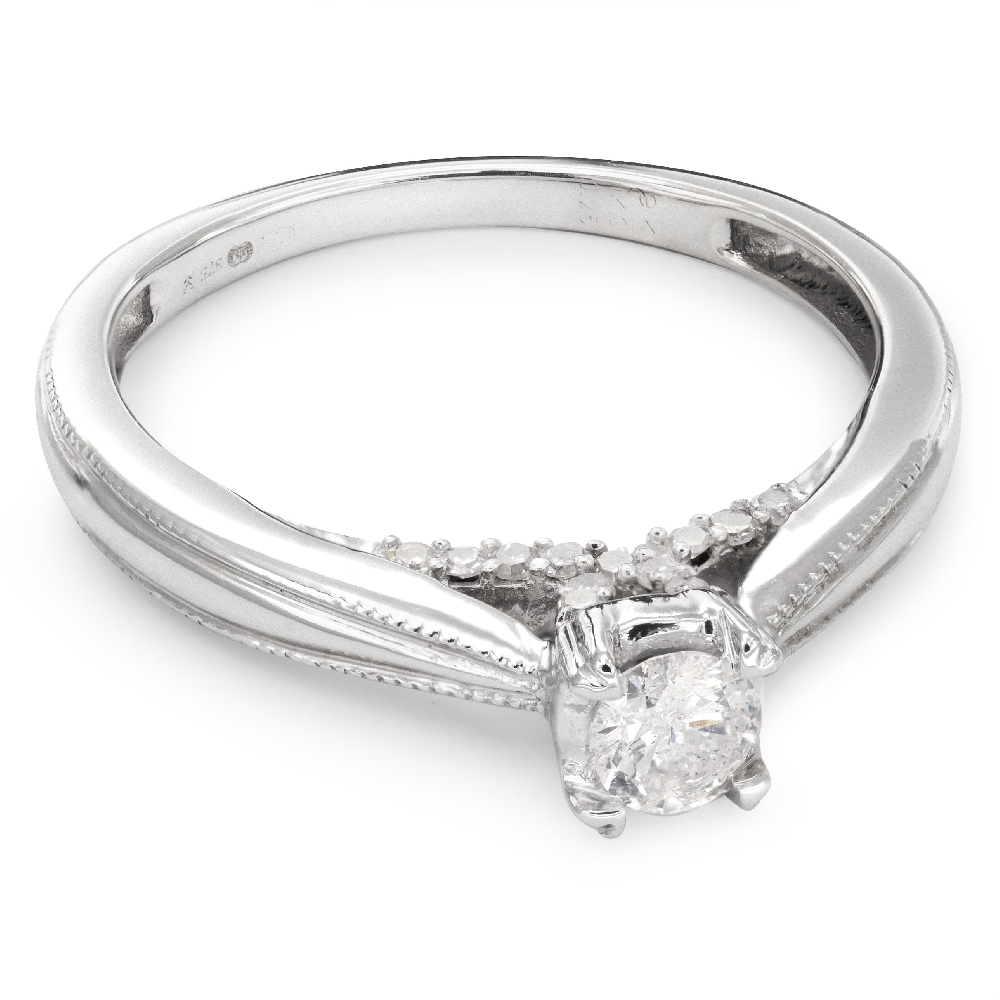 """Engagment ring with brilliants """"Grace 55"""""""