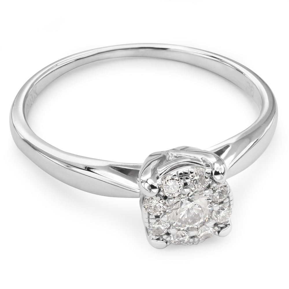 "Engagment ring with brilliants ""Bouquet of diamonds 27"""