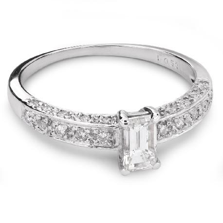 """Teemantidega kihlasõrmus """"Kroon 16"""""""