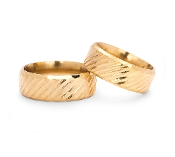 """Auksiniai vestuviniai žiedai """"VM121"""""""