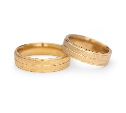 "Gold wedding rings ""VKA 309"""