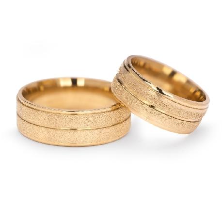 """Kullast abielusõrmused """"VKA 308"""""""