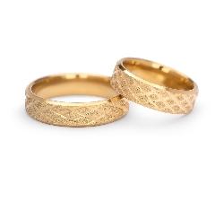 """Auksiniai vestuviniai žiedai """"VM125"""""""