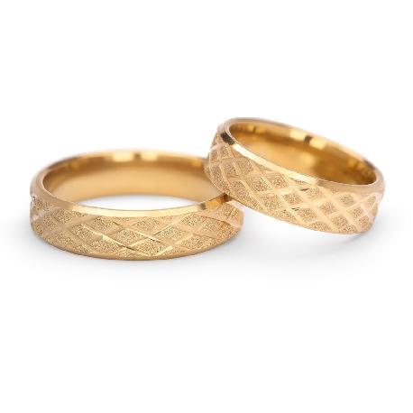 """Kullast abielusõrmused """"VKA 307"""""""