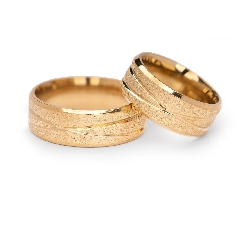 "Gold wedding rings ""VKA 306"""