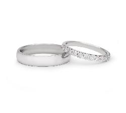 """Auksiniai vestuviniai žiedai """"VKA138"""""""