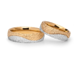 "Gold wedding rings ""VKA 304"""