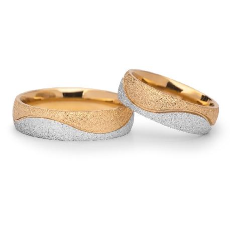 """Kullast abielusõrmused """"VKA 304"""""""