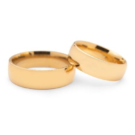 """Kullast abielusõrmused """"VKA 316"""""""