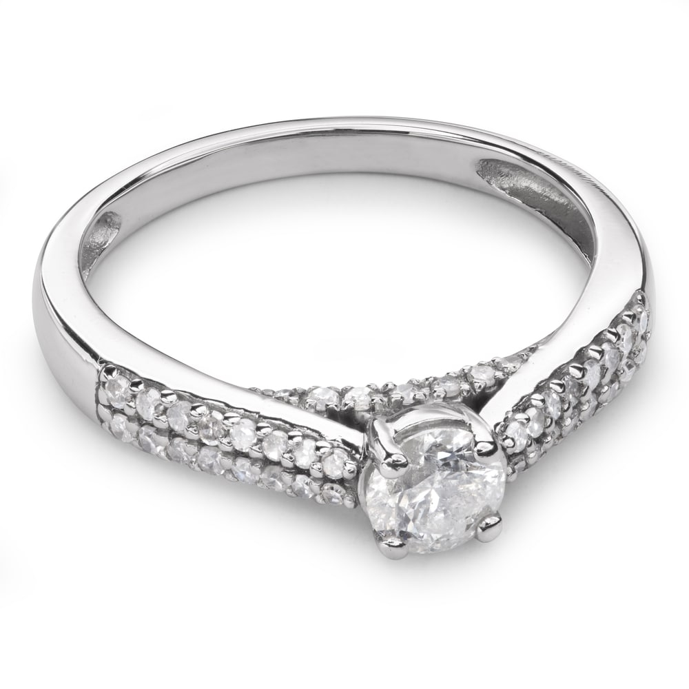"""Engagment ring with brilliants """"Grace 69"""""""