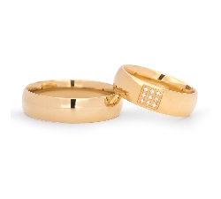 "Gold wedding rings ""VKA 139"""