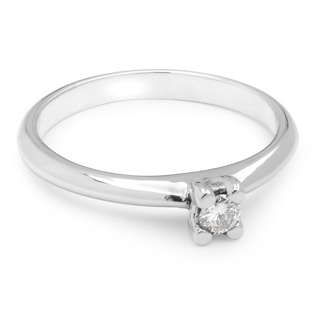 """Engagement ring with brilliant """"Goddess 63"""""""
