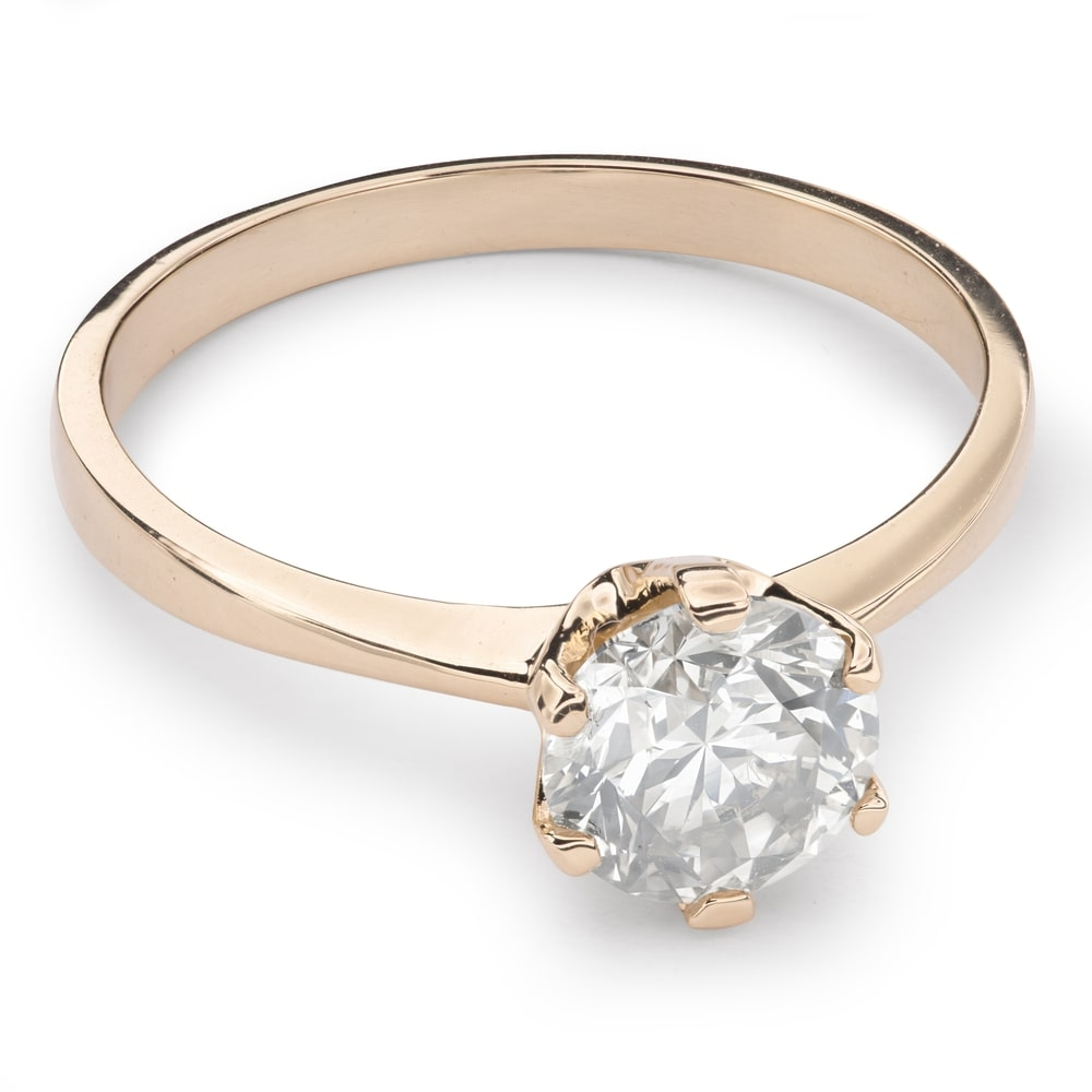 """Engagement ring with brilliant """"Unforgettable 12"""""""