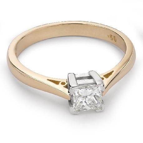 """Teemantiga kihlasõrmus """"Printsess 42"""""""