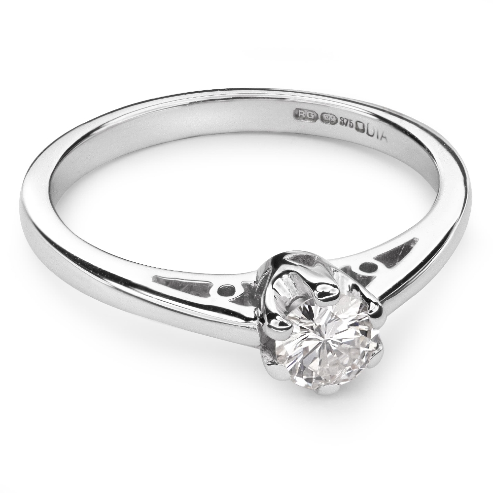 """Engagement ring with brilliant """"The only one 72"""""""