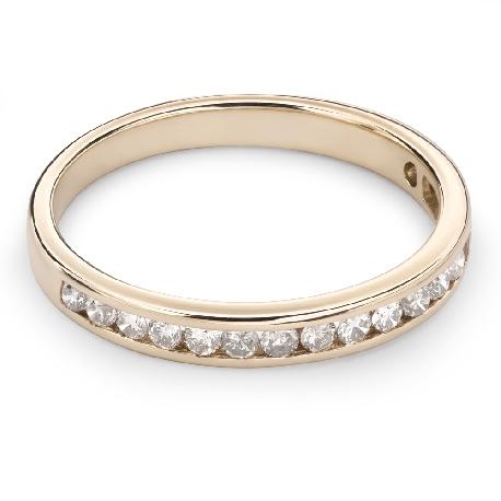 """Briljantidega kuldsõrmus """"Teemantidega lint 34"""""""