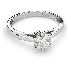 "Engagement ring with brilliant ""Classic 29"""