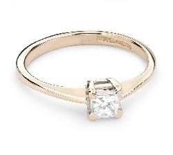 """Sužadėtuvių žiedas su Deimantu """"Princesė 54"""""""