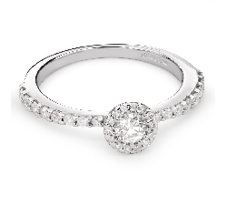 "Engagment ring with brilliants ""Bouquet of diamonds 35"""
