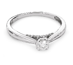 """Engagement ring with brilliant """"Lover 84"""""""