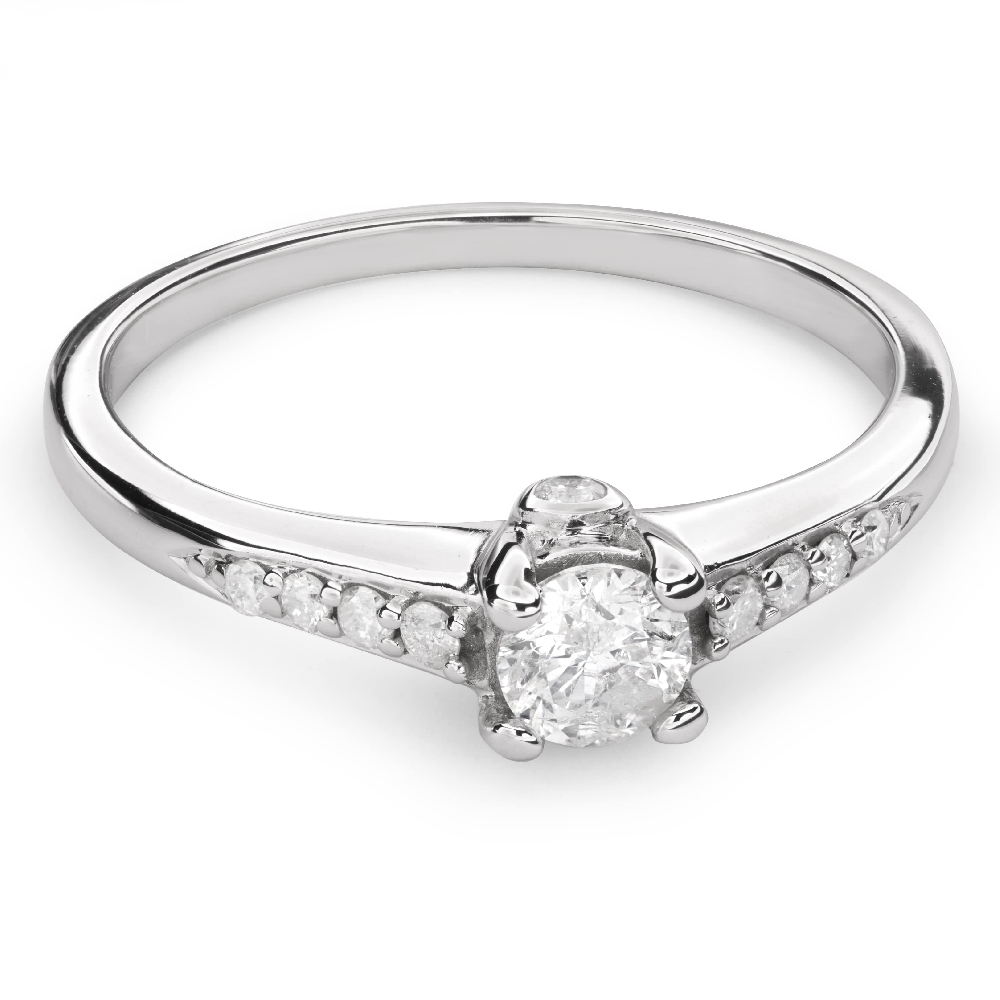 """Engagement ring with brilliant """"Grace 97"""""""