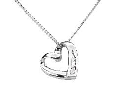 """Teemantidega kullast ripats """"Armastuse embus 32"""""""