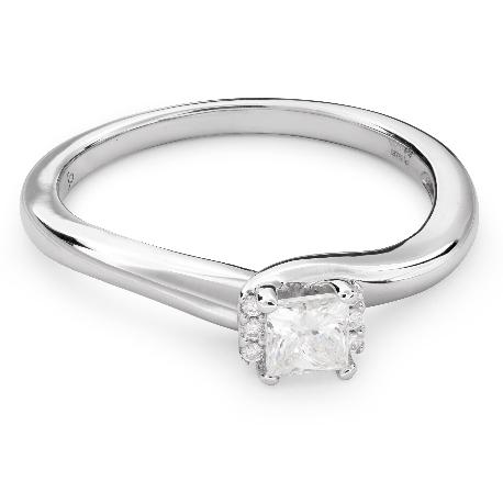 """Teemantidega kihlasõrmus """"Printsess 53"""""""