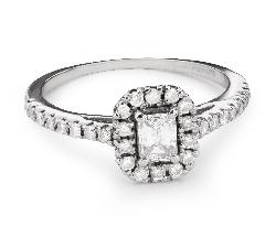 """Teemantidega kuldsõrmus """"Graatsilisus 106"""""""
