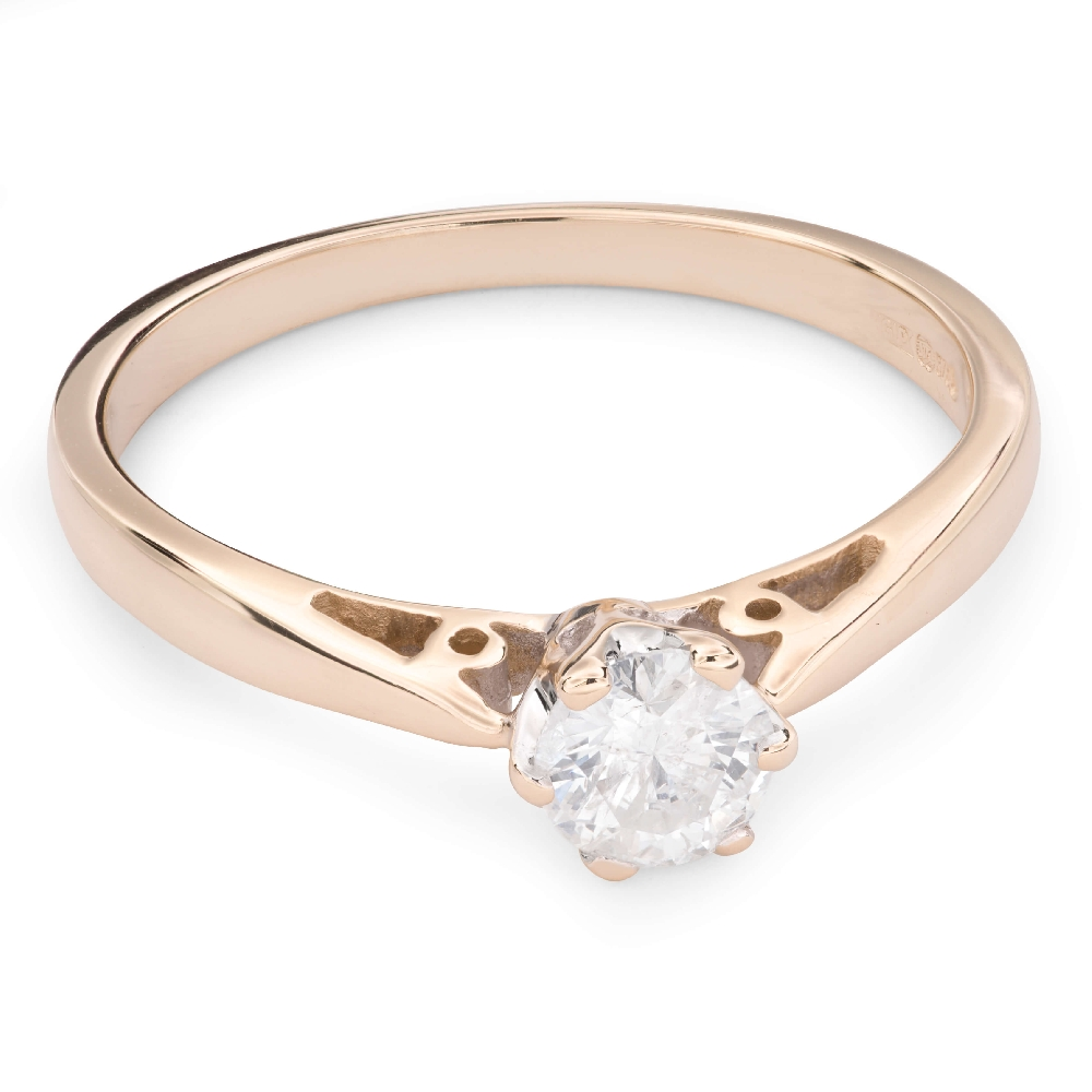"""Engagement ring with brilliant """"The only one 90"""""""